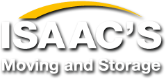 Gala-Rama sponsor Isaac's Moving and Storage logo